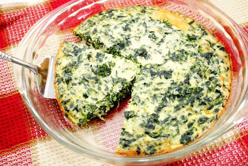 Spinach & Cream Cheese Pie